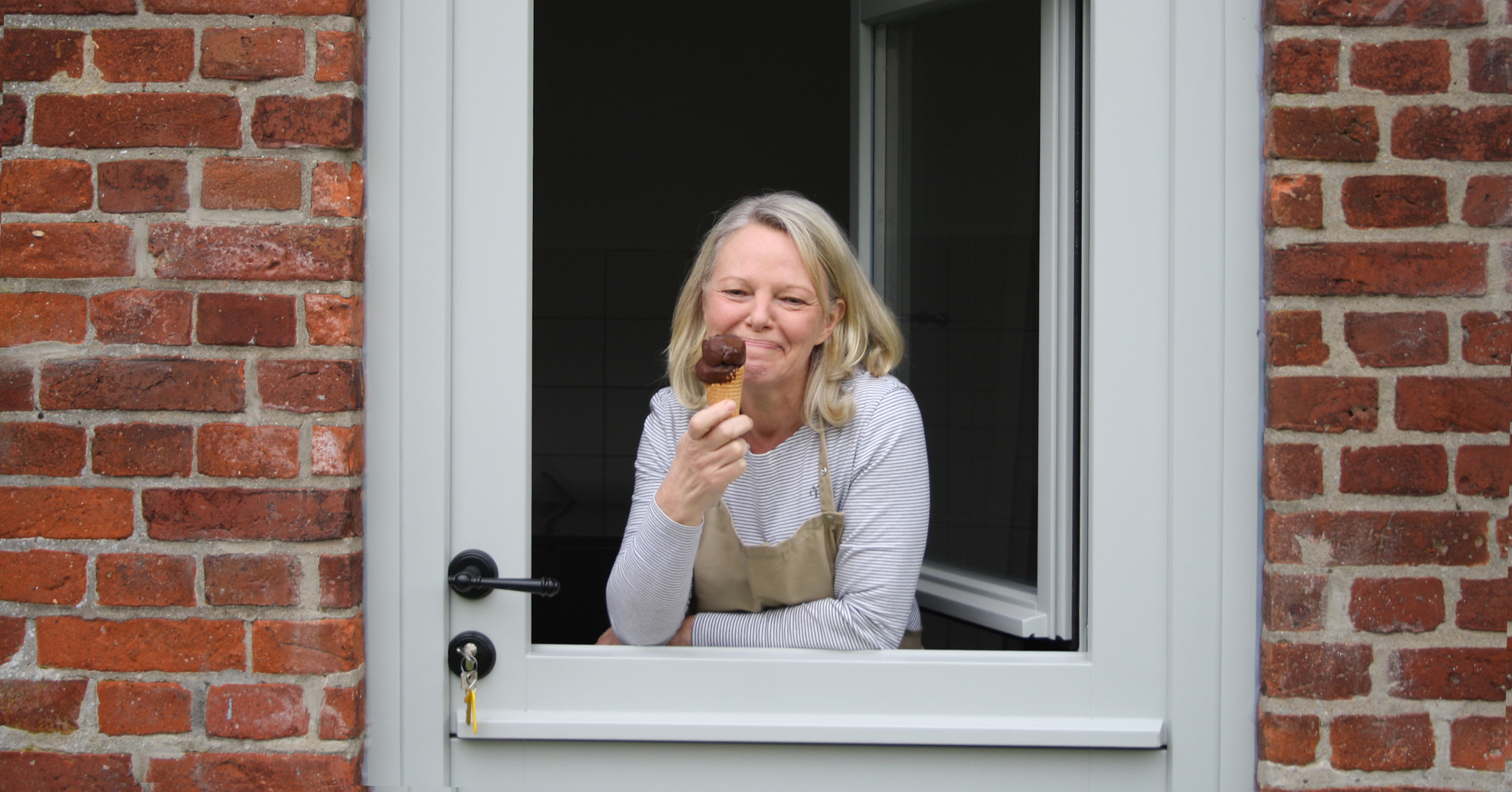 Katja Schlimme Gründerin die kleine Eiswerkstatt
